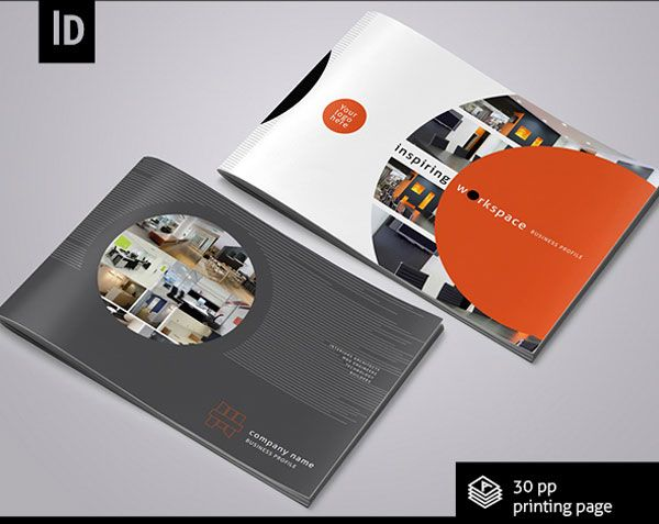 Interior Design Brochure Template 1 25 Really Beautiful Brochure Designs  Templates For Inspiration