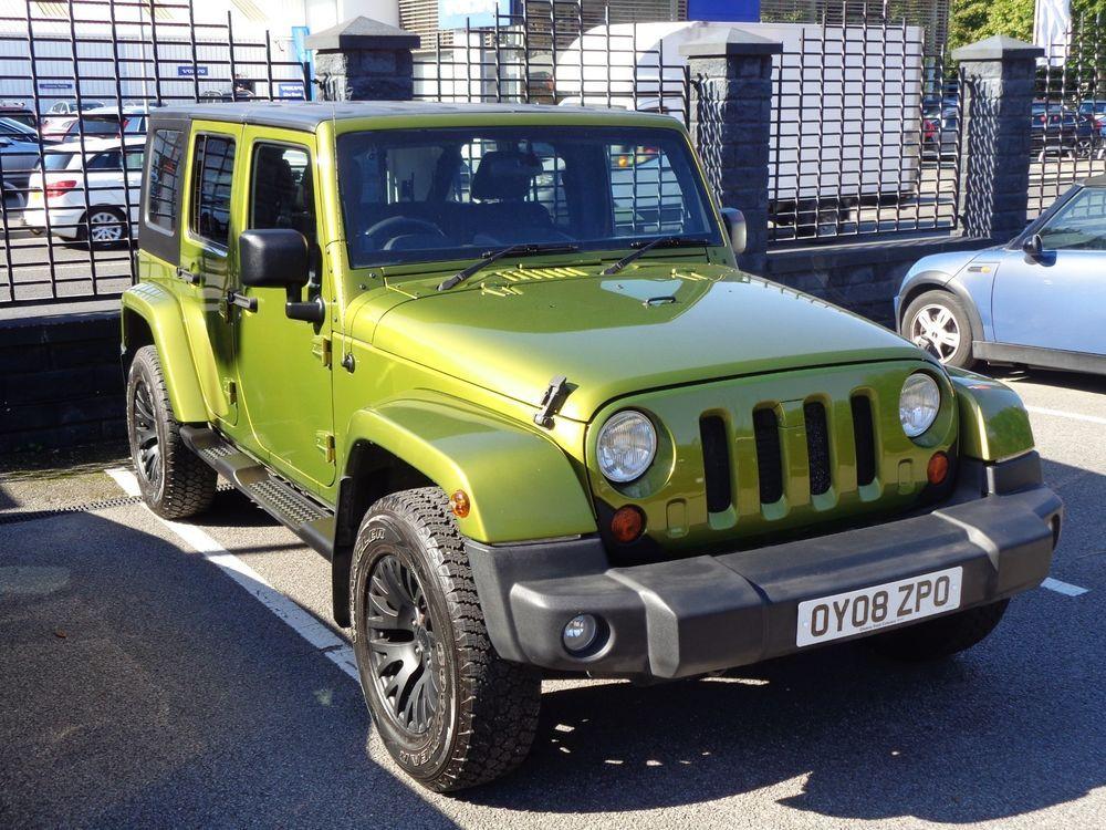 Ebay Jeep Wrangler Jk 4 Door Diesel In Green By Kahn Chelsea Truck