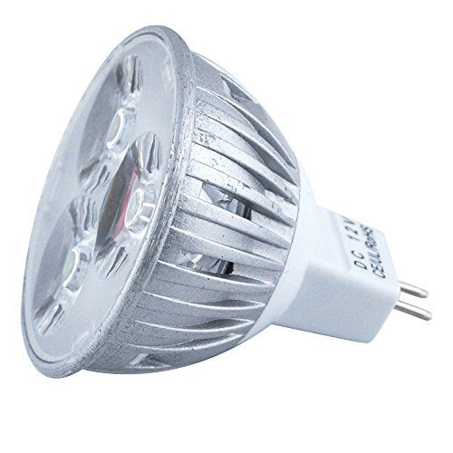 Excellent Mr16 Warm White Energy Efficient Dc 12v 4w Led Bulb 150lm Lamps Spot Lights For For Artwork Lighting Pack Of 4 Http Bulb Led Bulb Led Lights