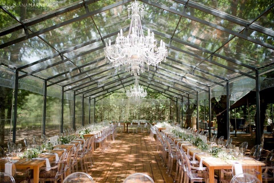 Die Woud accommodates 140 guests in their