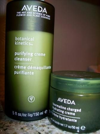 Aveda..great skin care. I live by these items. My skin is
