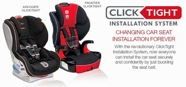 New Britax Clicktight Car Seat Technology Changes Car Seat Installation Forever Car Seats Car Seat Installation Britax