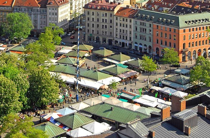 viktualienmarkt in m nchen locations pinterest