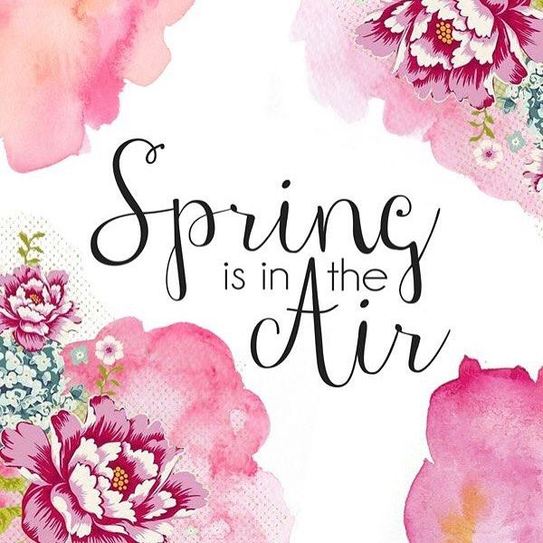 Happy First Day Of Spring By Sweetpeachsugar Refer Reputable