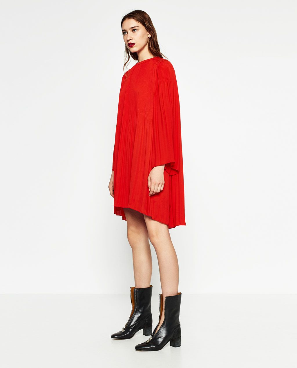Ss18 Dresses Zara Inspiration Plissée De Robe Image 1 wqY4Ug