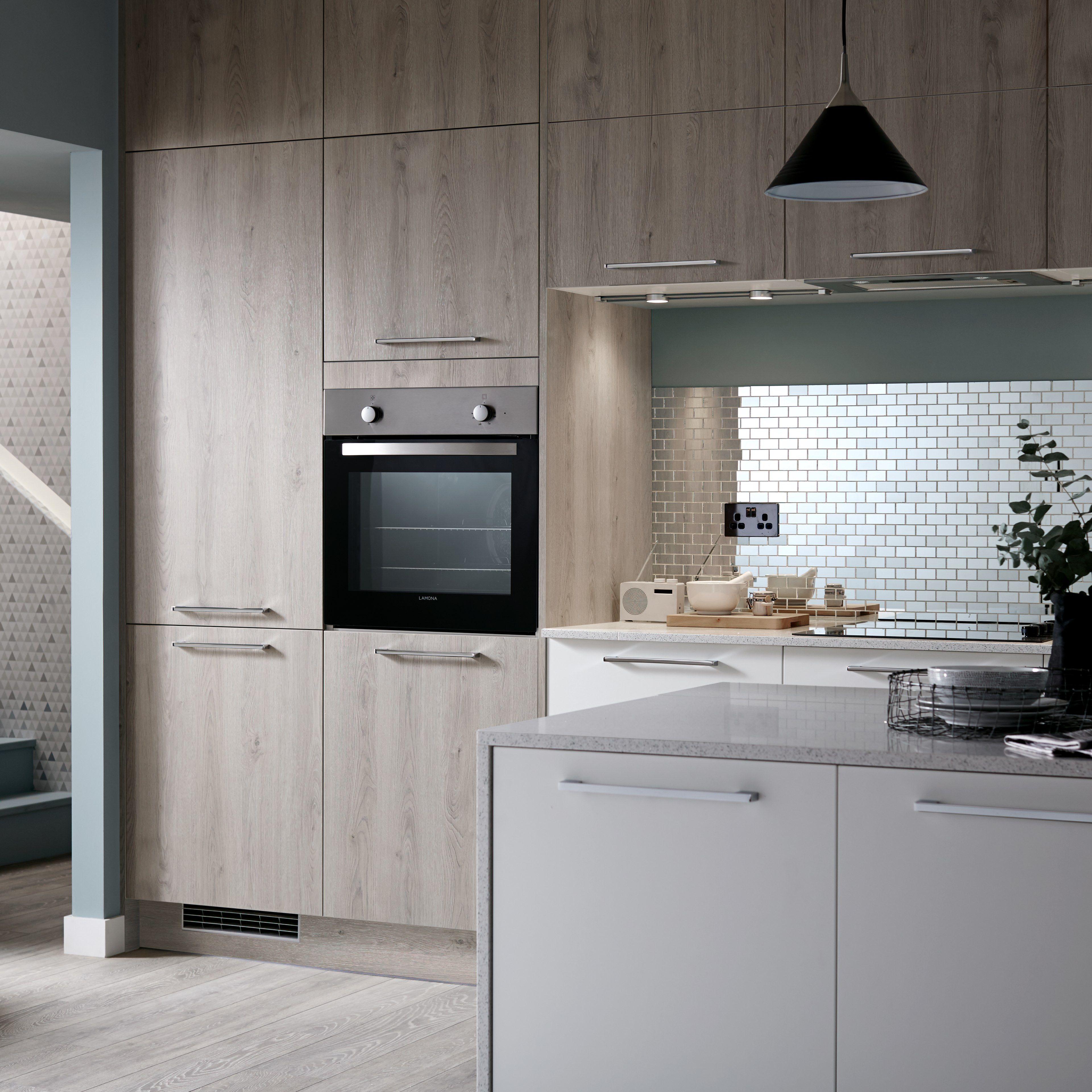 Howdens Modern kitchen, White modern kitchen, Howdens