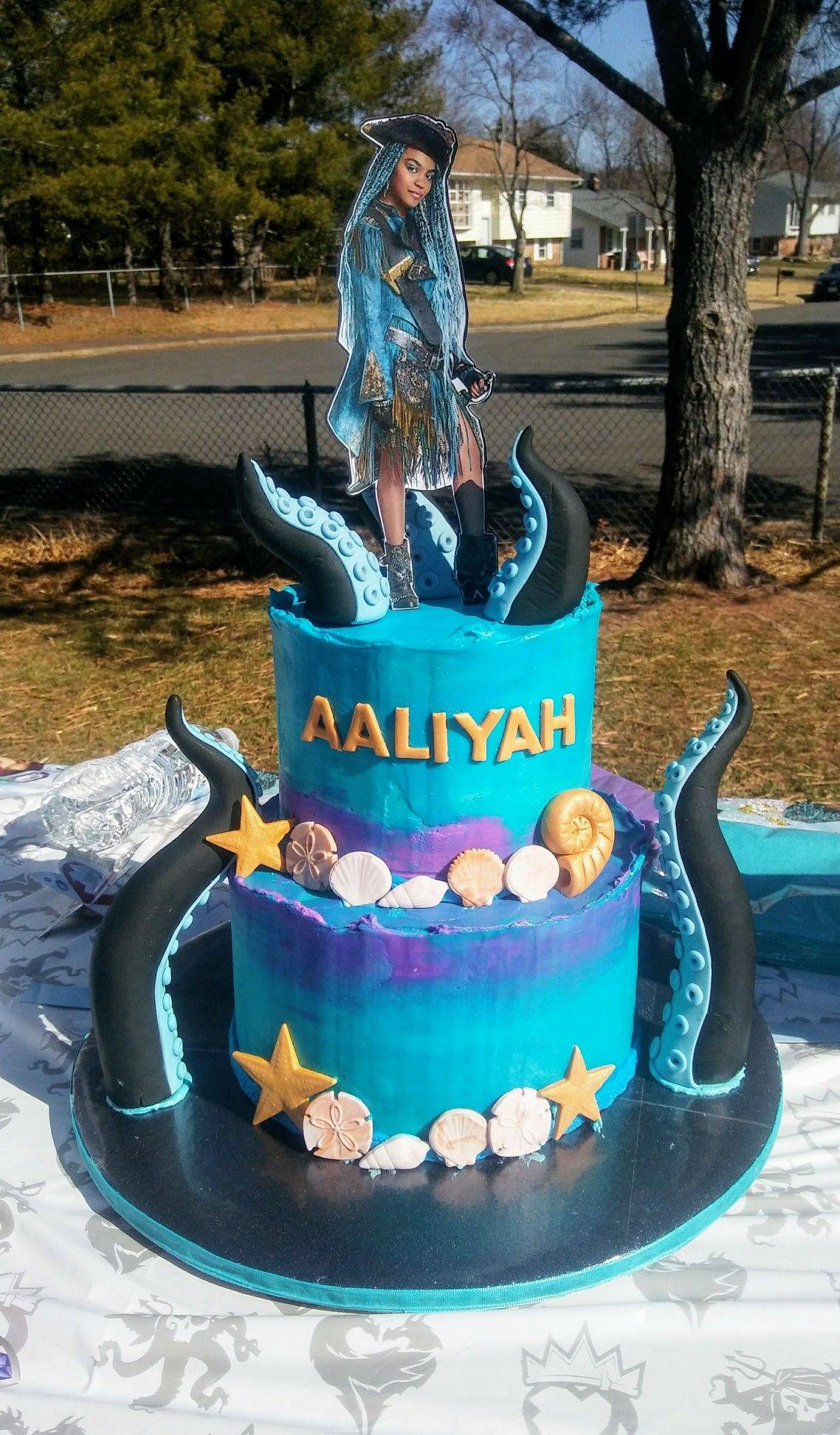 Descendants Uma Cake Descendantscake Aslcakes Aslcakes