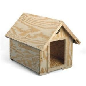 image result for easy dog house plans | ideas for the house