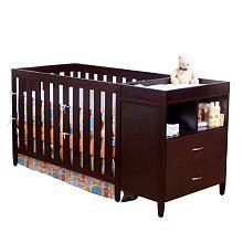 Bsf Baby Austin Convertible Crib N Changer Combo