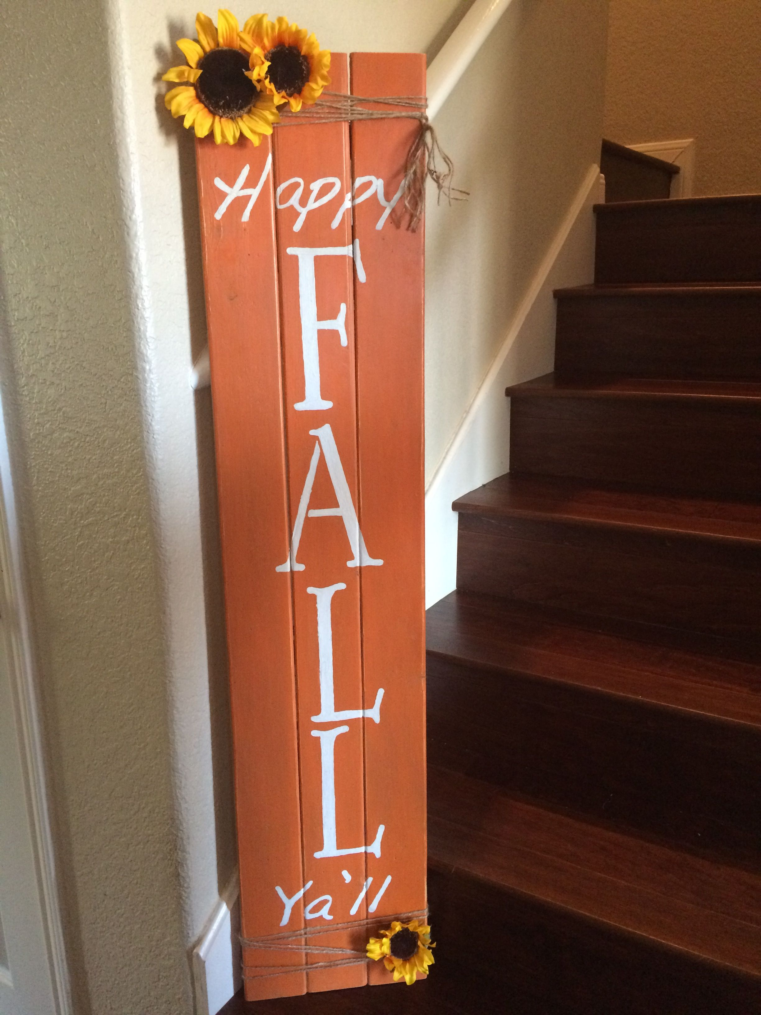 Pallet Creations Fall Home Wood