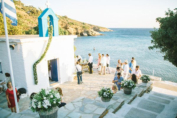 Rustic Beach Wedding In Greece Wedding Greece Wedding