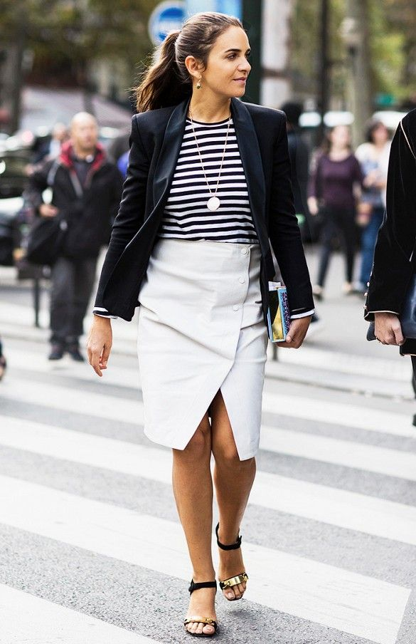 10 Monday-Morning Outfit Ideas You Can Put Together Super-Fast via @WhoWhatWear