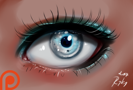 Eye - video process by ryky.deviantart.com on @DeviantArt