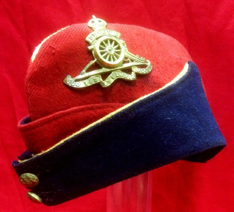 WW2 British Royal Artillery Officers Side Cap | Side caps