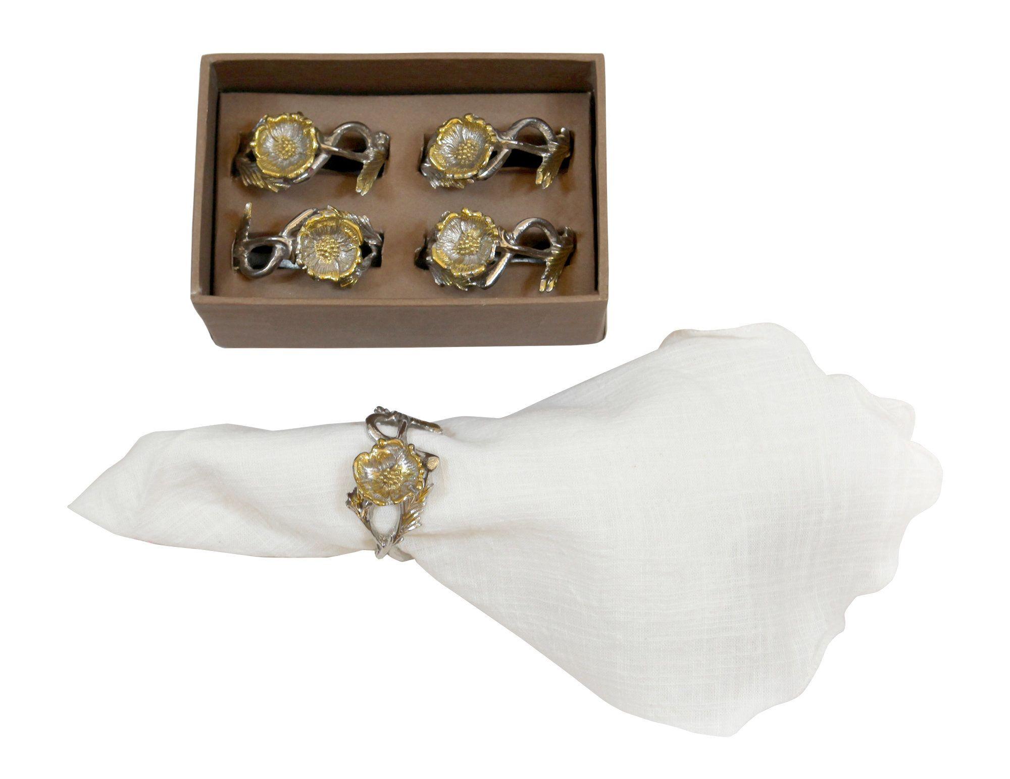 Poppy napkin ring products