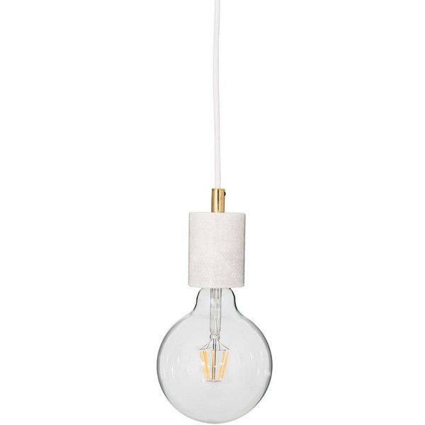 Flamant Norwin, pendant lamp (€55) ❤ liked on Polyvore featuring home, lighting, ceiling lights and decor