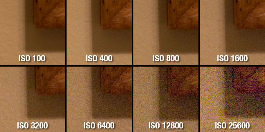 What does camera iso stand for