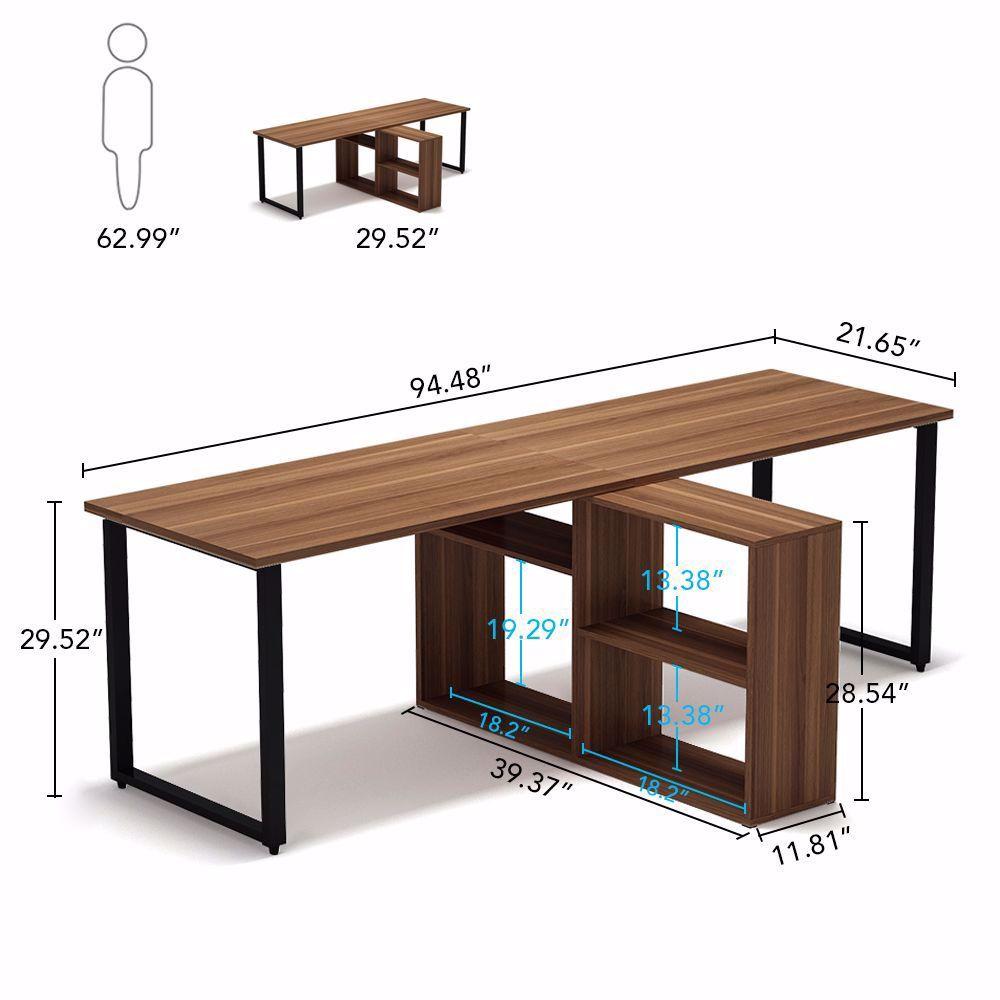 Perfect As A Computer Desk 2 Person Desk Home Office Desk Writing Desk Office Desk Craft Computer Desks For Home Home Office Table Modern Home Office Desk