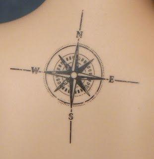 Róża Wiatrów Tatuaż Szukaj W Google Tattoos Compass