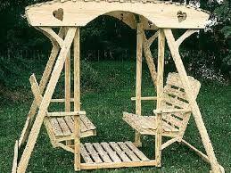 Como hacer columpios de madera para jardin buscar con - Columpios de madera para jardin ...