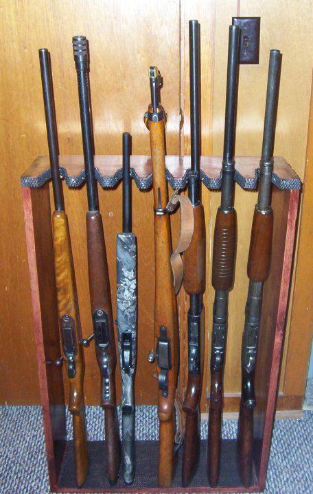 Vertical Gun Rack Vertical Gun Rack Plans My Style