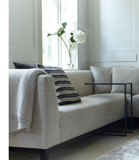 Hudson Side Table Sofa Side Table Contemporary Sofa Sofa