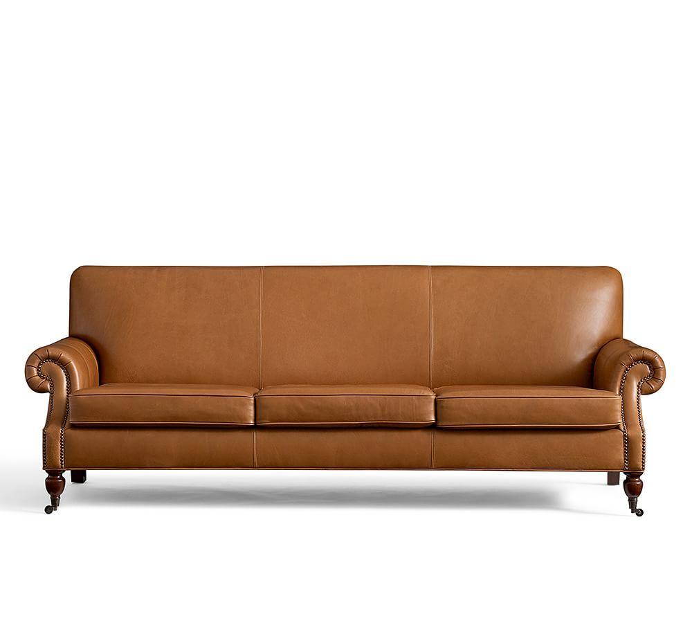 Brooklyn Leather Sofa