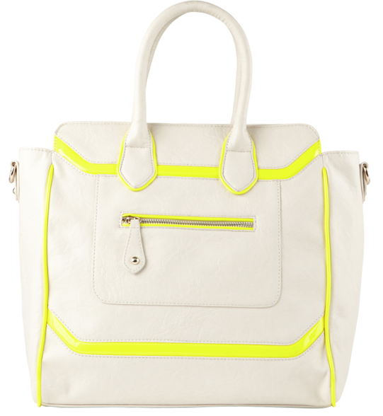 Aldo. Must admit, this is the neon trend done right.