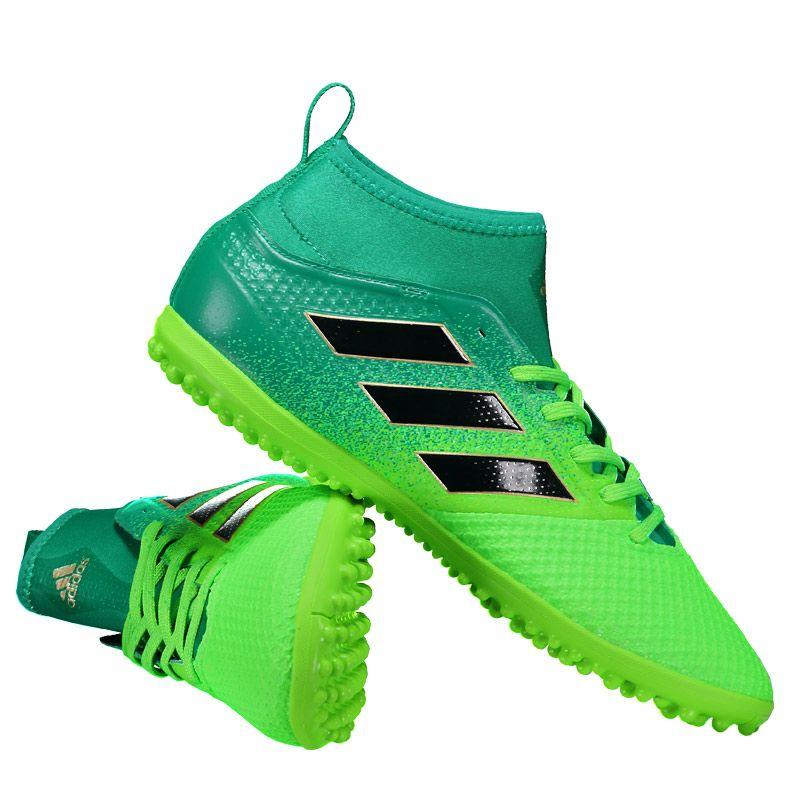 c58ed77c1 Chuteira Adidas Ace 17.3 TF Society Verde Somente na FutFanatics você  compra agora Chuteira Adidas Ace