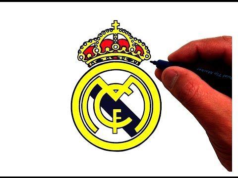 Как рисовать логотип реал мадрид