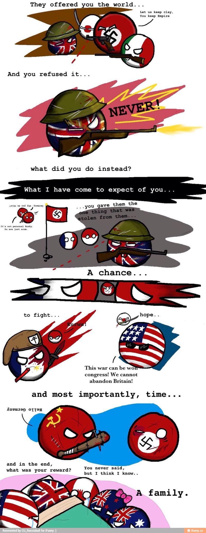 World Wars 1 2 Ukball Country Jokes Country Humor History Memes