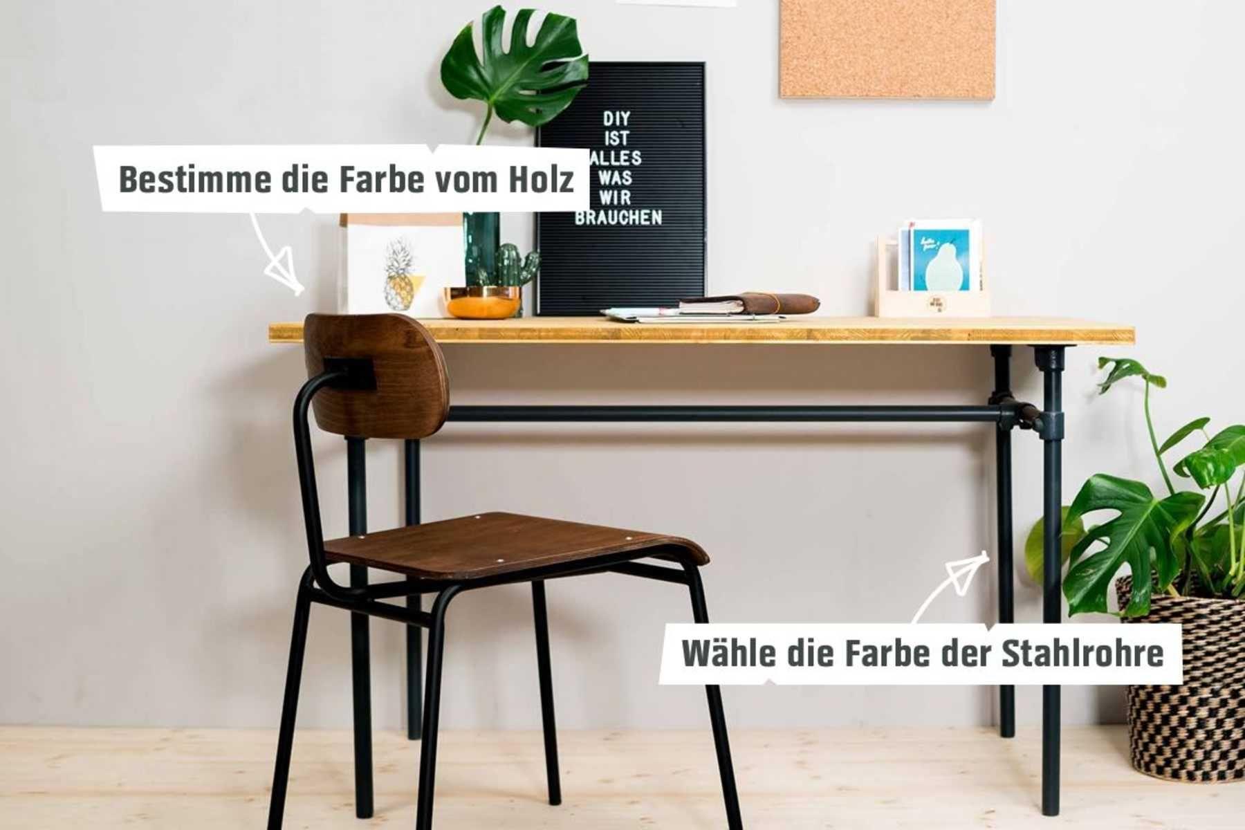 Tisch Rohrbert Selber Bauen Rohrmobel Haus Deko Rohre Tisch
