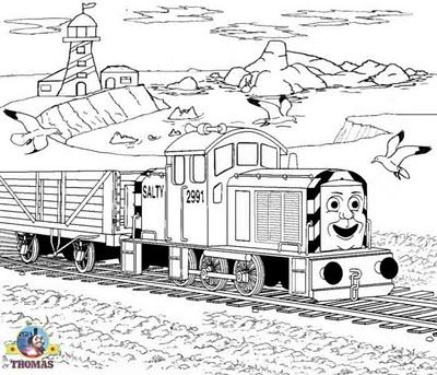 Tomek I Przyjaciele 7 Train Coloring Pages Coloring Pages