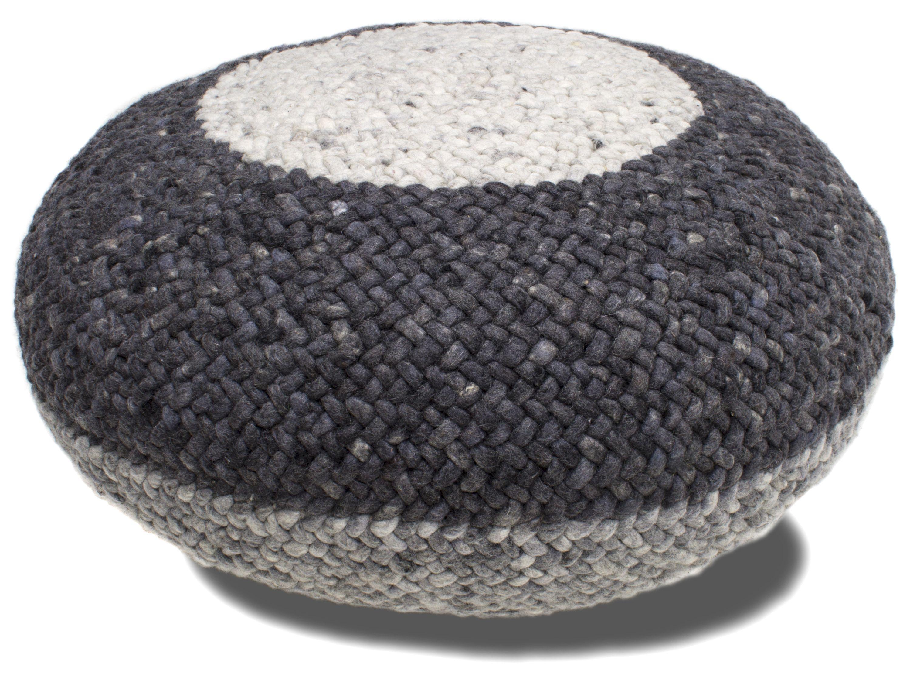 lounge stripe perlettacarpets perletta footstool poef. Black Bedroom Furniture Sets. Home Design Ideas