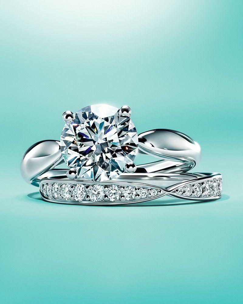 Tiffany Harmony Band rings Tiffany and Engagement