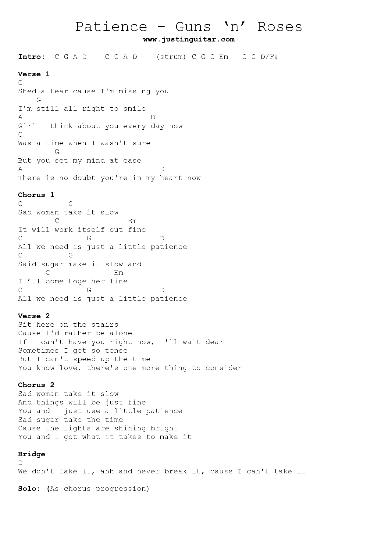 Patience Guns N Roses Lyrics Google Sk People Pinterest