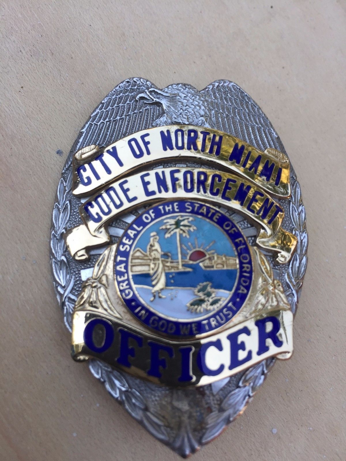 Code Enforcement Officer, City of North Miami (SUN Badge