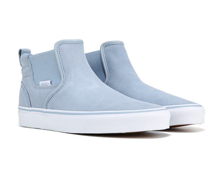 Vans Asher Slip On Mid Sneaker Bluefog