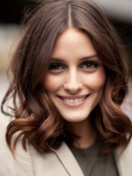 Medium Length Wavy Haircuts With Bangs Hair Styles How To Curl Short Hair Long Hair Styles