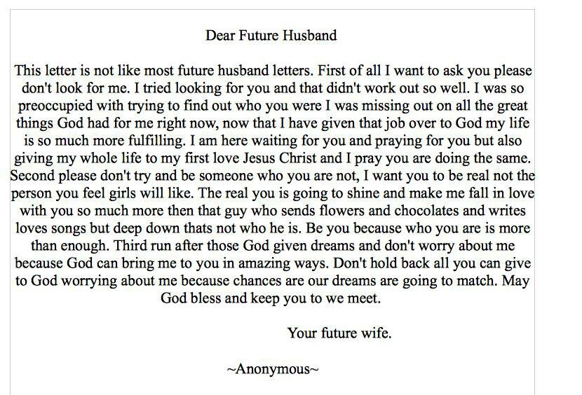 letter to my future husband future husband quotes quotesgram 712