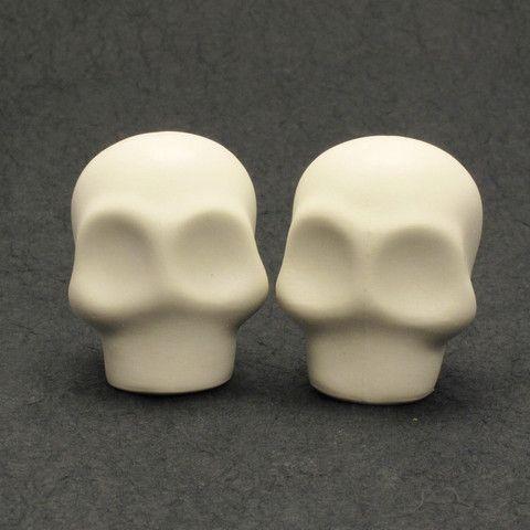 Skull Wedding Cake Toppers Unpainted Skulls Tutoriais