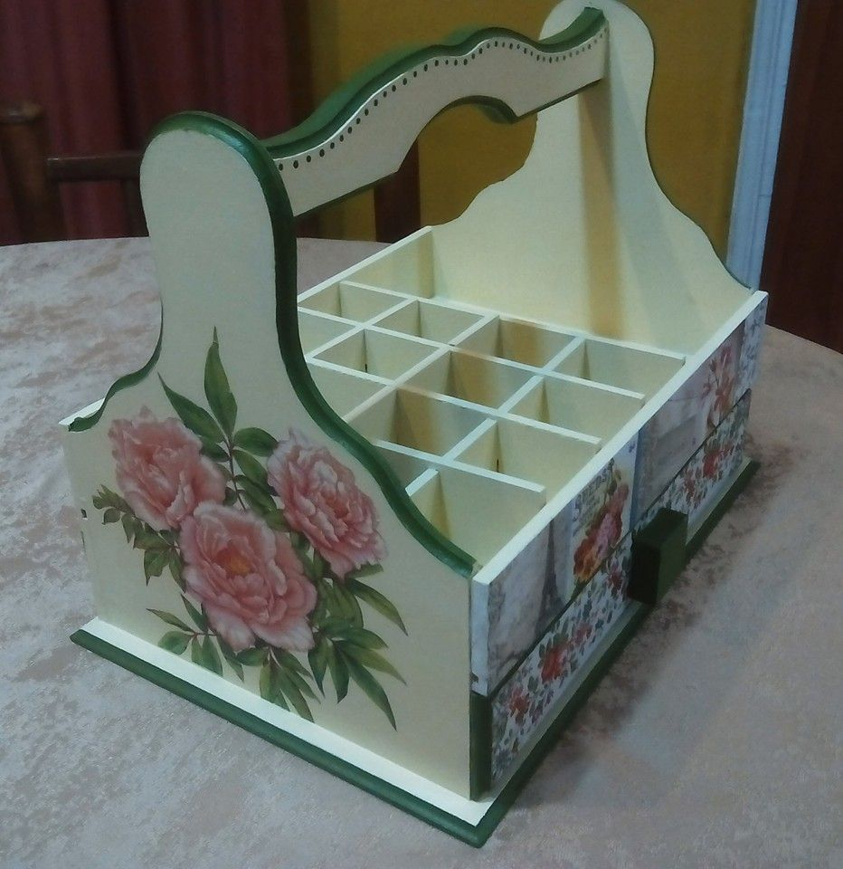porta esmalte de uñas, con cajón inferior | Cecilia 1 | Pinterest ...