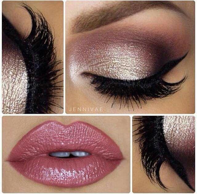Purple And Gold Prom Eye Makeup Eye Makeup Glitter Makeup