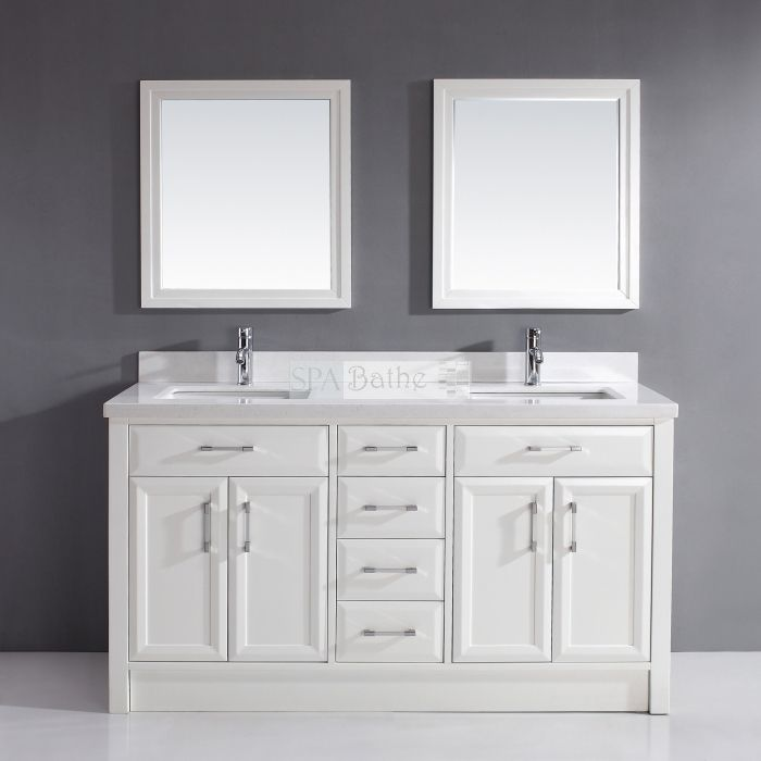 Spa Bathe Bath Calumet Double Vanity At Lowe S Canada Find Our Selection Of Bathroom Vanities The Lowest Price Guaranteed With Match