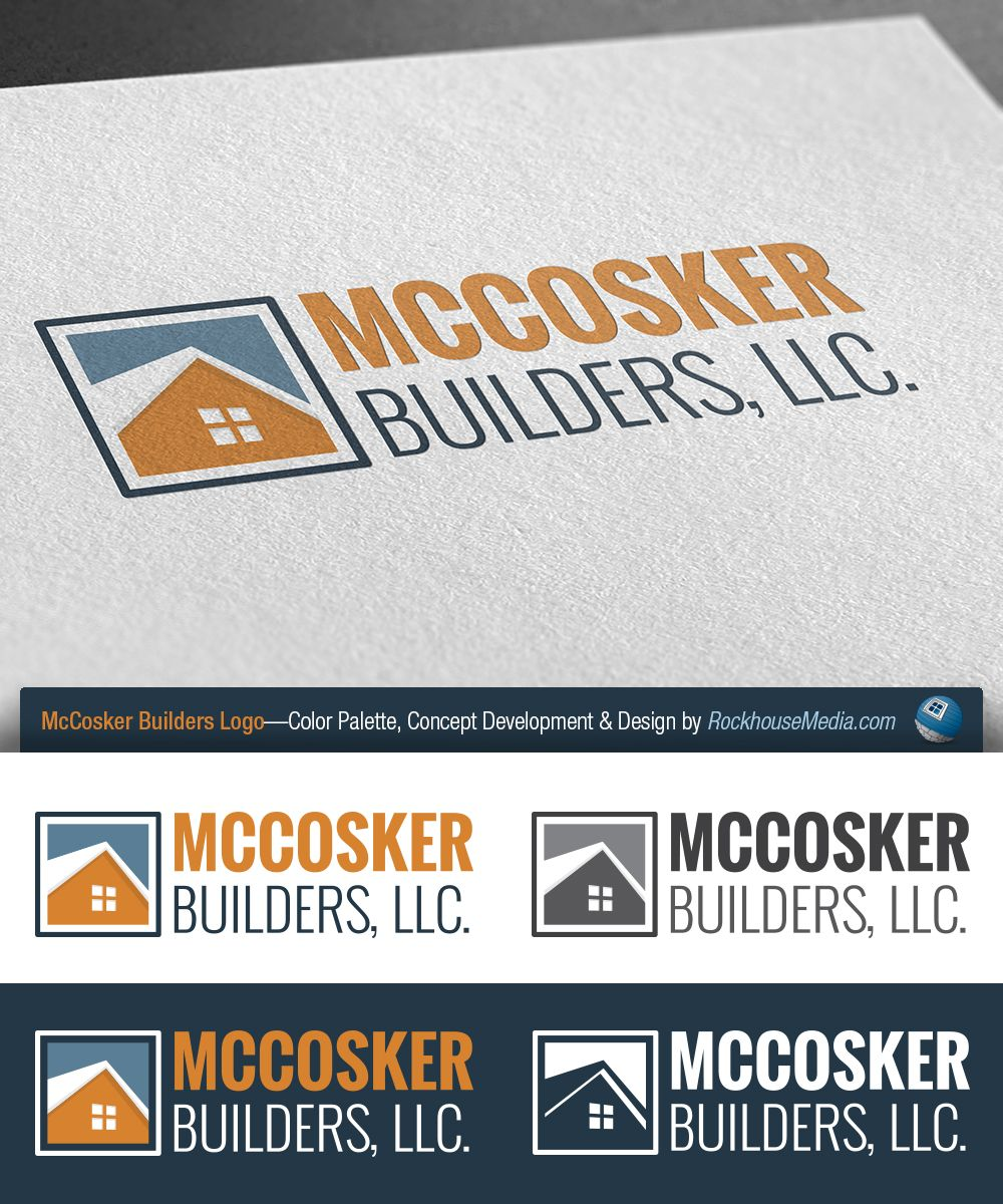 McCosker Builders Logo Design—Custom Home Design And