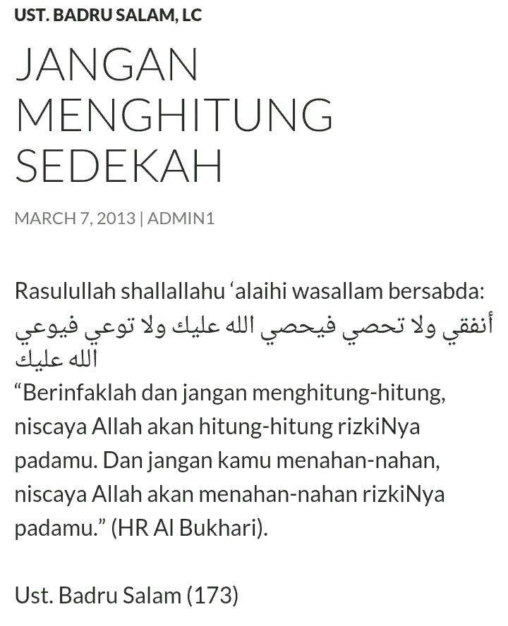 Quotes Sedekah 5