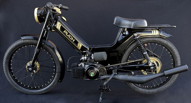 Twowheels+   Peds   Puch moped, Moped motorcycle, Moped bike