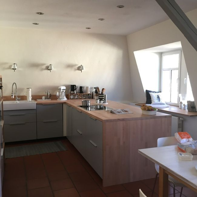Die neue Küche... Small apartment kitchen, Small kitchen