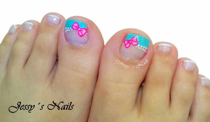 Uñas pies | Nails Pies | Pinterest | Pedicures and Manicure