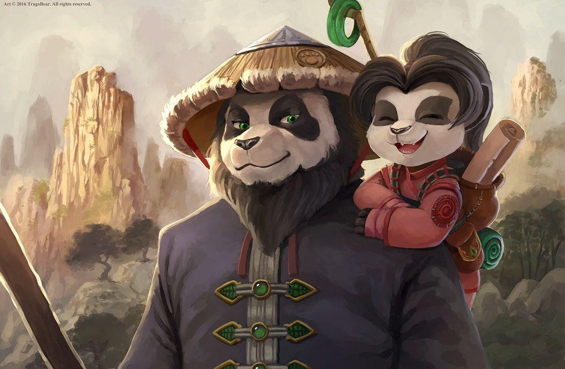 Chen And Li Li By Tragobear Deviantart Com On Deviantart Art Anime Overwatch Cosplay